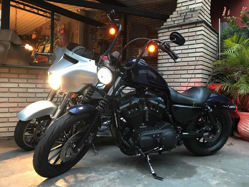 Harley Davidson 883 Iron 2013 Garagem Retrô
