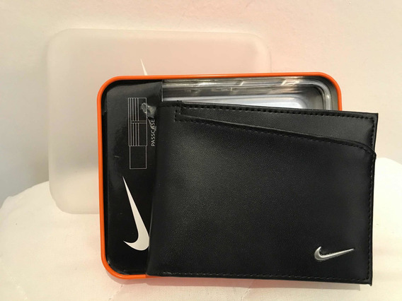 Cartera Marca Nike Color Negra Original