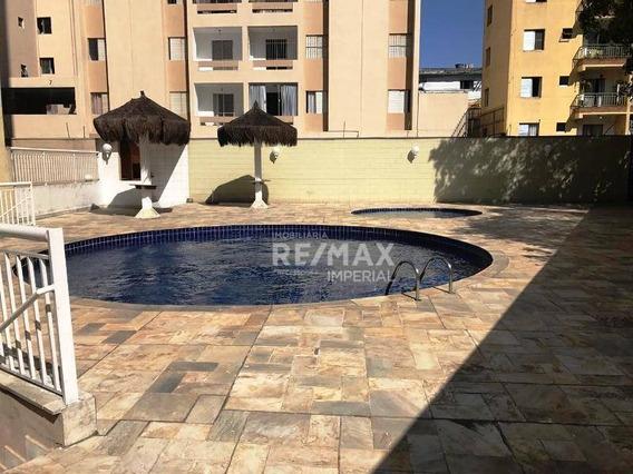 Apartamento Com 3 Quartos À Venda, 65 M² Por R$ 327.000 - Taboão Da Serra/sp - Ap1097