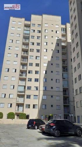 Imagem 1 de 20 de Apartamento Com 2 Dorm. Moveis Planejados À Venda, 49 M² Por R$ 308.000 - Limão (zona Norte) - São Paulo/sp - Ap4156