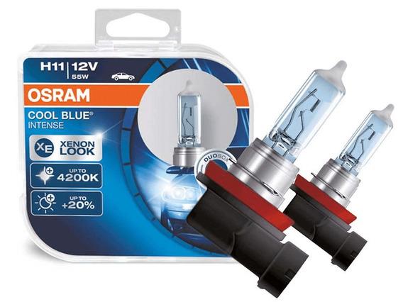 Lampada Cool Blue Intense H11 Osram Efeito Xenon Par 4200k