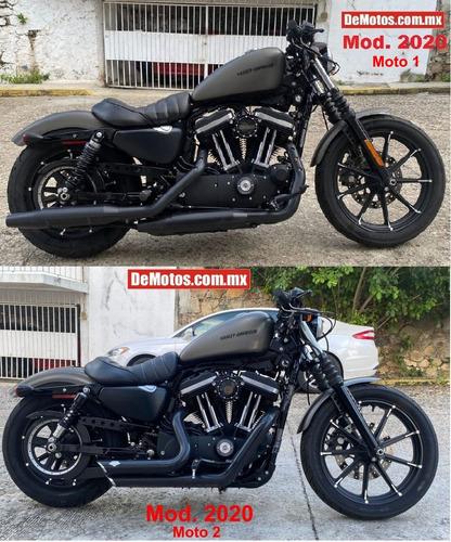 Imagen 1 de 15 de Harley Davidson Iron 883 Son Dos Motos 1600 Millas Demotos
