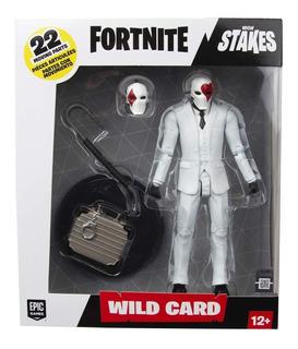 Fortnite Figura De Wild Card Red 17cm Juguetería El Pehuen