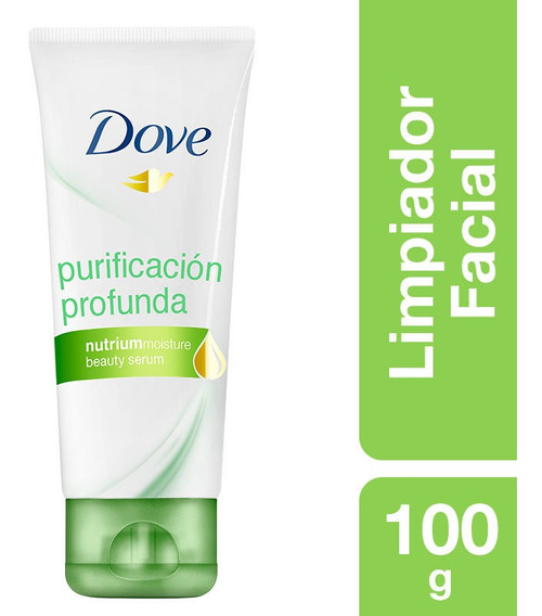 Limpiador Facial Dove Purificacion Profunda 100gr