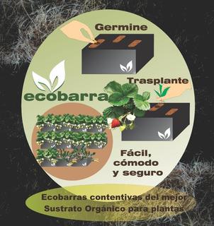 Ecobarra Maceta Sustrato Para Semilla Y Trasplante (14 Lts)
