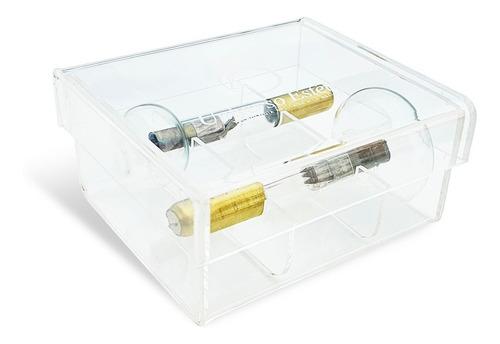 Estuche, Caja Protectora De 2 Lámparas De Radiofrecuencia