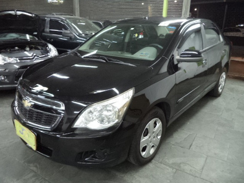 Chevrolet Cobalt Lt 1.4 8v Flex Completo Airbags 2014 Preto