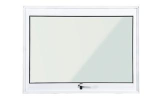 Janela Maxim Ar Alumínio Branco 0,60 X 0,60