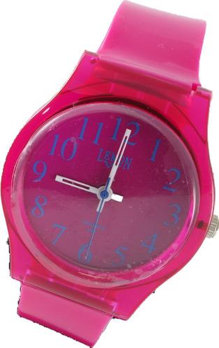 Reloj Lemon Caucho Mujer Analogico Elegi Color