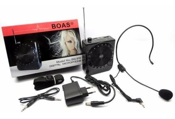 Microfone Digital Com Amplificador De Voz