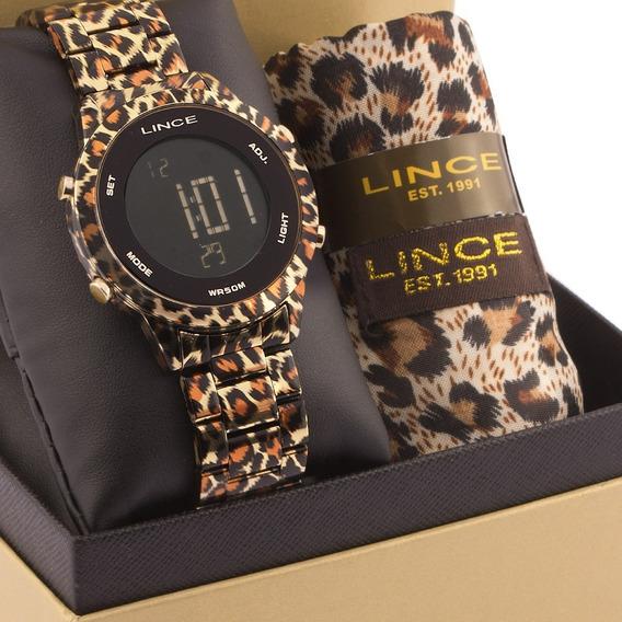 Kit Relógio Feminino Lince Com Lenço Sdph103lky09pxkp
