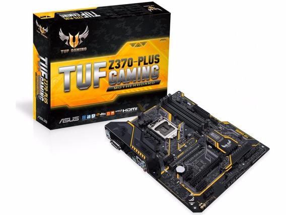 Placa Mãe Asus Tuf Z370-plus Gaming 8 E 9 Geração Z370
