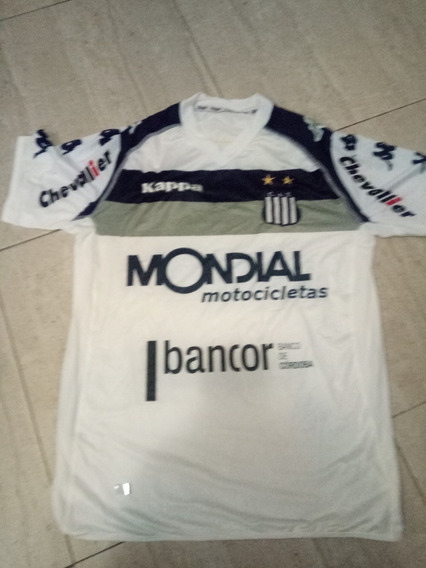 Camiseta De Talleres Blanca Kappa Mondial Nueva!
