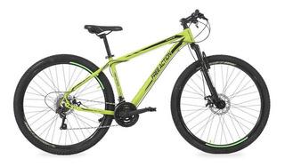 Bicicleta Free Action Flexus 2.0 Aro 29 21v Verde/preto