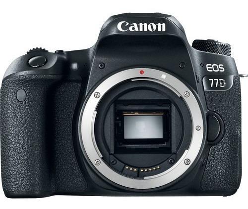 Câmera Canon Eos 77d Corpo Nova 1 Ano De Garantia + Nfe