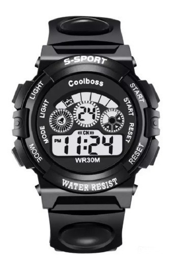 Reloj Hombre Digital Led Deportivo Moda Impermeable Colboss®