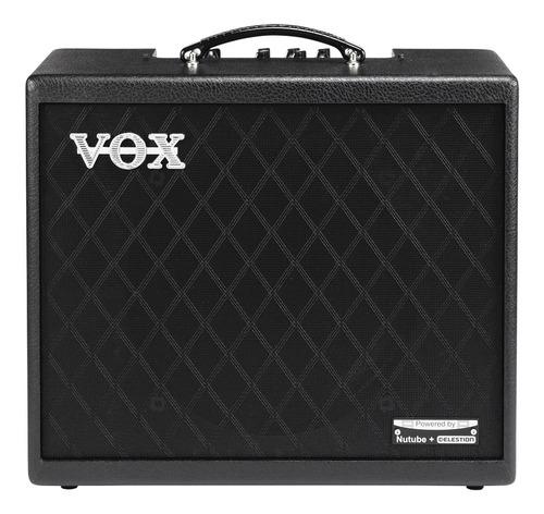 Imagen 1 de 1 de Amplificador VOX Cambridge Cambridge50 Valvular para guitarra de 50W color negro 220V