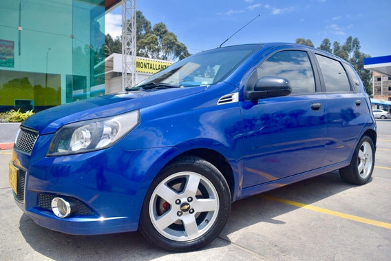 Chevrolet Aveo Emotion Gt Motor 1.6 Hatchback 2012 5 Puertas