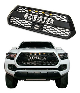 Parrilla Toyota Tacoma Malla 4 Leds