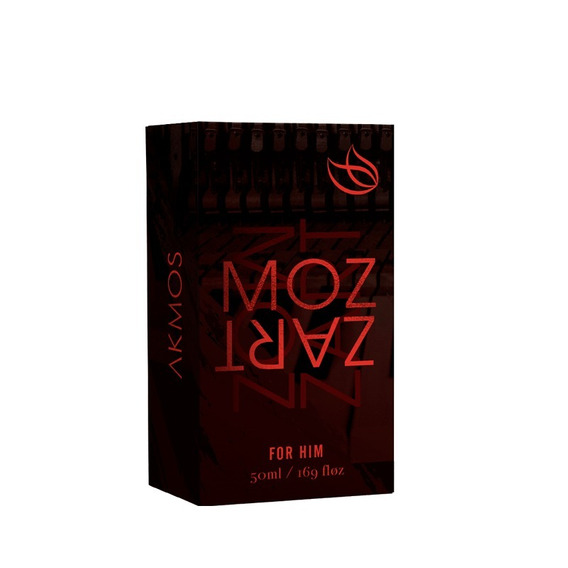 Perfume Mozart Akmos Fragrance Original Masculino 50ml