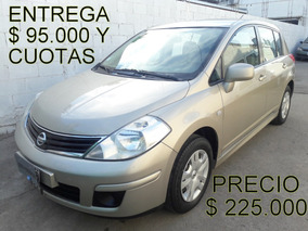 Nissan Tiida Visia 2013 1.8 *financio Un 60% *recibo Menor*