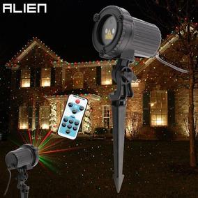Projetor De Luz Laser Bivolt Luzes Enfeite De Natal