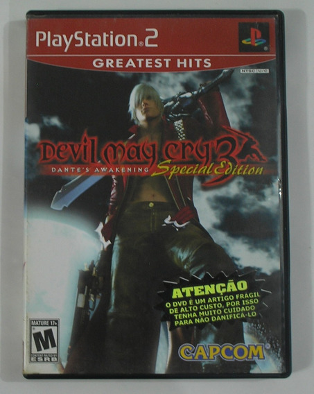Devil May Cry 3 Awakening Special Edition Ps2 Original Usado