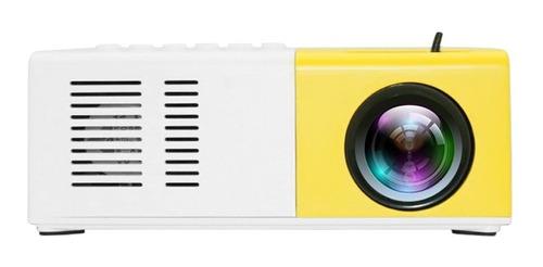 Proyector Led Portátil De 400 Lm, 720p/1080p