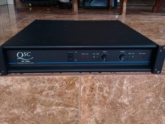 Qsc - Amplificador Profesional Mx 1500a