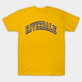 Playera Riverdale, Serie, Corte Hombre, Amarilla.