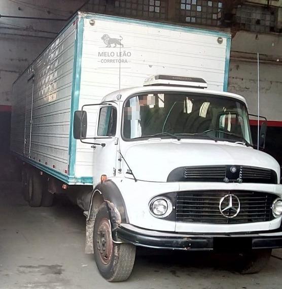 Mb L 1113 - 81/81 - Truck, Baú De Alumínio, Sem Detalhes