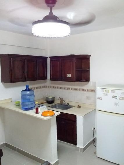 Apartamento Amueblado De 1 Habitación Ensanche Miraflores