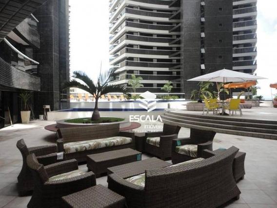 Apartamento Mobiliado 40m2 Beira Mar - Ap1450