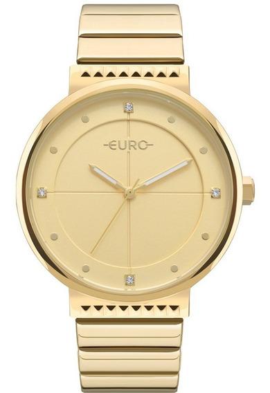 Relógio Euro Feminino Dourado Eu2035yoa/4d