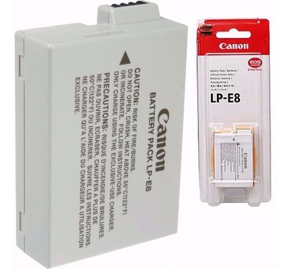 Bateria Canon Lp-e8 Rebel T2i T3i T5i X4 X5,eos,t2i,t3