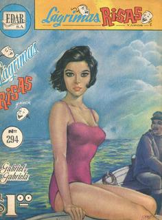 Lagrimas, Risas Y Amor. Cómic De 1968. Gabriel Y Gabriela