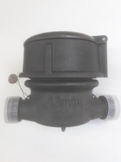 Medidor De Agua Pvc Semi-húmedo 113mm Chorro Único, Clase B