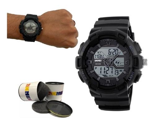 Relógio Masculino Prova Dágua Shock Barato Original + Nf 58
