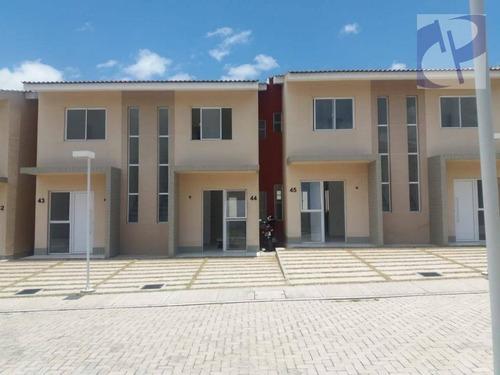 Casa Com 2 Dormitórios Para Alugar, 70 M² Por R$ 819,00/mês - Ancuri - Fortaleza/ce - Ca2727
