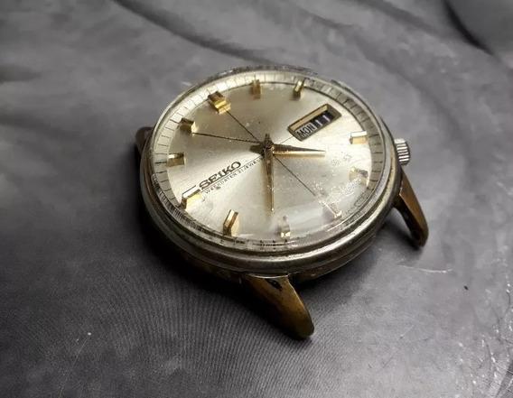 Relógio Seiko Automático Mostrador Bege