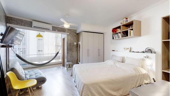 Apartamento Studio Reformado E Mobiliado Do Lado Do Metrô