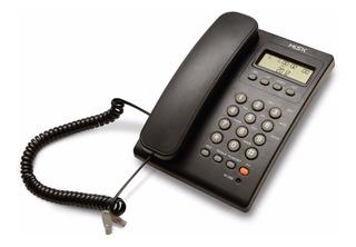 Teléfono Alámbrico Misik Mt883 Para Casa Identificador Negro