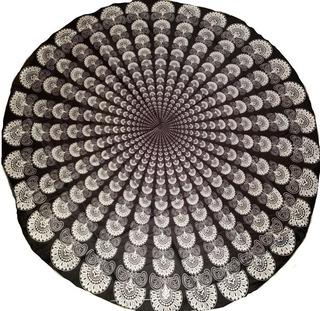 Mandala Decorativo Tapete Meditación Yoga Pareo Playa Envío+