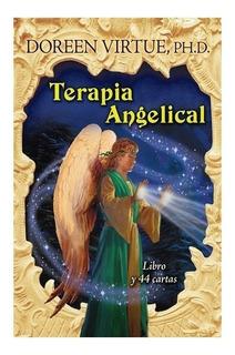Terapia Angelical, Libro Y 44 Cartas, Doreen Virtue Es Nuevo