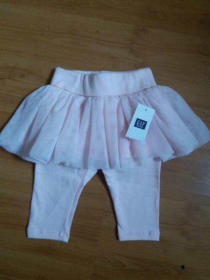 Calça Saia Bailarina Bebê Menina Baby Gap