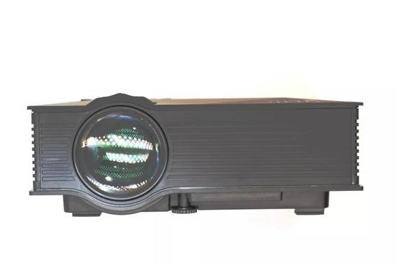 Projetor Uc68 Hdmi, Wi-fi 2 Saídas Áudios Unic 1200 Lumens