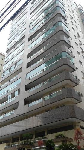 Imagem 1 de 24 de Lindo Apartamento No Canto Do Forte - Sil32