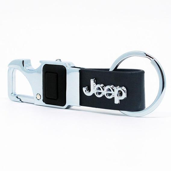 Chaveiro Jeep Lanterna Led Abridor Renegade Wrangler Compass