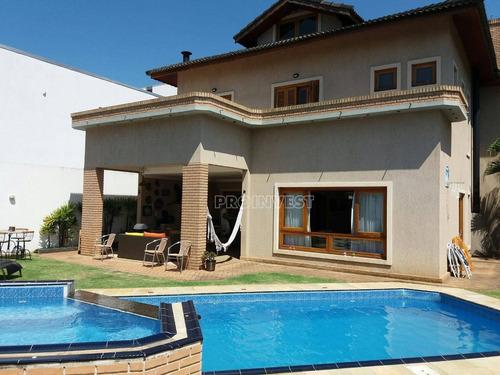 Excelente Imóvel Em Condomínio De Alto Padrão, Granja Viana - Ca16470