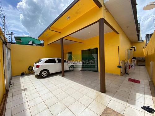 Casa Com 2 Dormitórios À Venda, 140 M² Por R$ 220.000,00 - Alvorada - Manaus/am - Ca4056